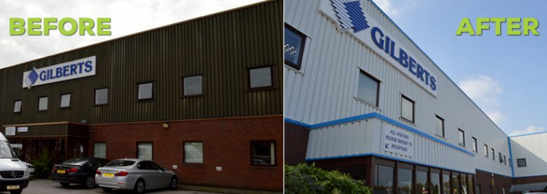 Gilberts Before and After Refurbishment