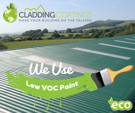 We Use Low Voc Paints Cladding Coatings
