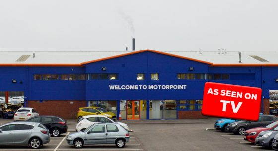 Motorpoint Shopfront on TV