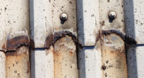 Cut Edge Corrosion Example