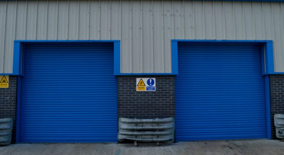 Jofson Roller Doors After On-site Spraying