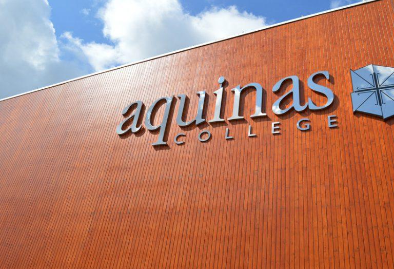 Aquinas College Wooden Cladding Spraying Refurbishment