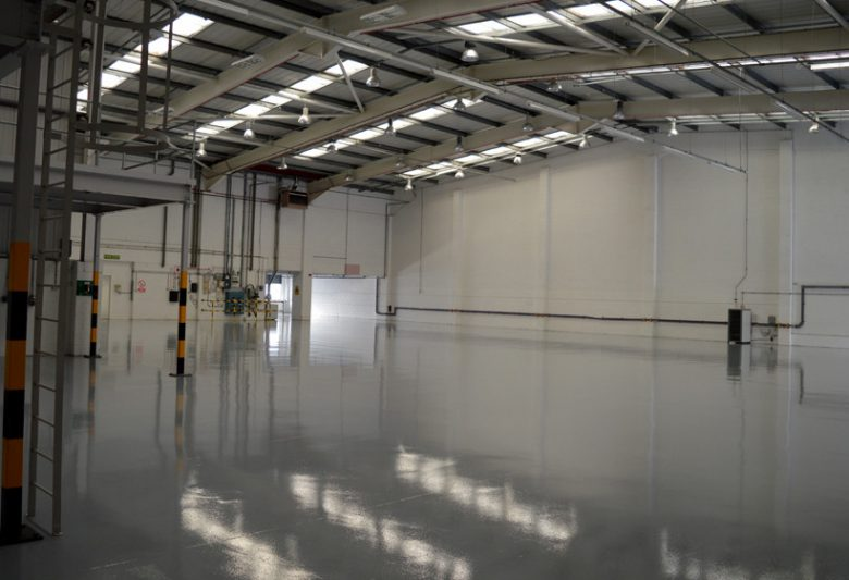 internal warehouse refurbishment