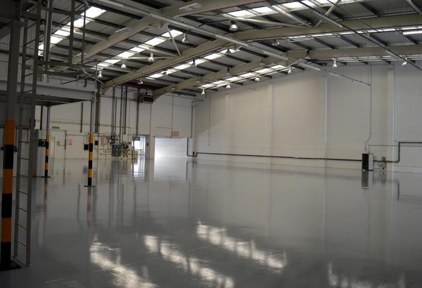 internal warehouse refurbishment