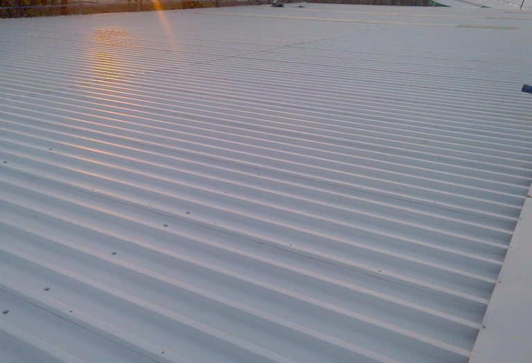 Monks and Crane Roof Coating Project