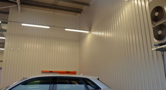 Motorpoint Internal Wall Spraying