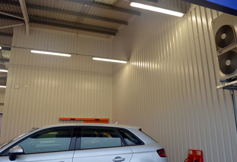 Motorpoint Internal Wall Spraying