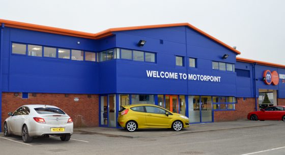 Motorpoint Shopfront After External Refurbishment