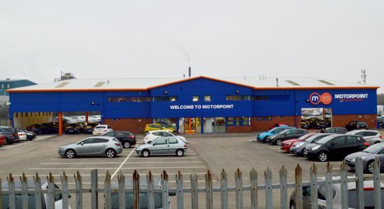 Motorpoint Widnes Shopfront Refurbishment