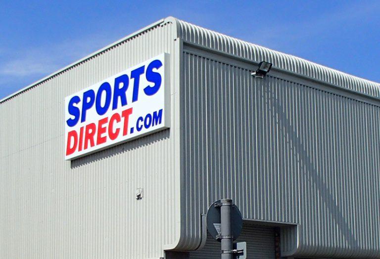 Sports Direct Shopfront Spraying