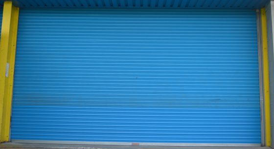 Tuffnells Roller Shutter Door Before