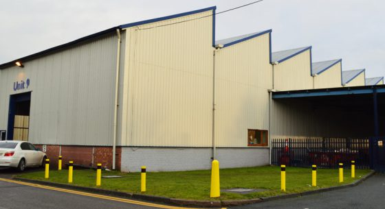 St Modwen Unit 9 After Onsite Spray Painting
