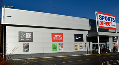 Wall Cladding Service Sports Direct