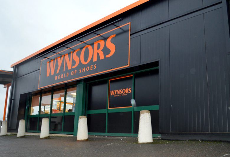 Wynsors After Shopfront Spraying