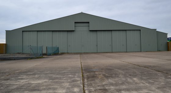 Aircraft Hanger, Greenham, Berkshire