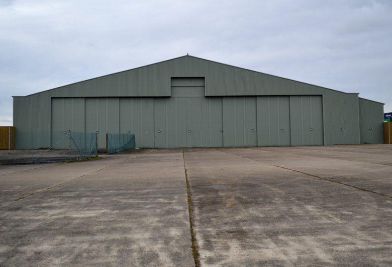 Aircraft Hanger After External Refurbishment