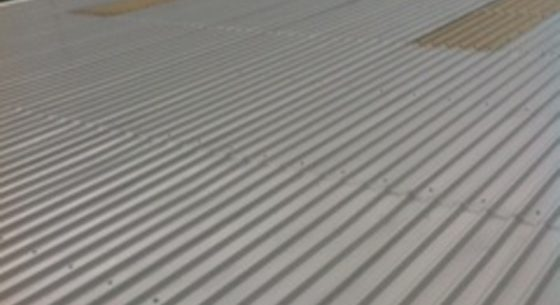 Littlehampton Sports Hall Roof After Coating
