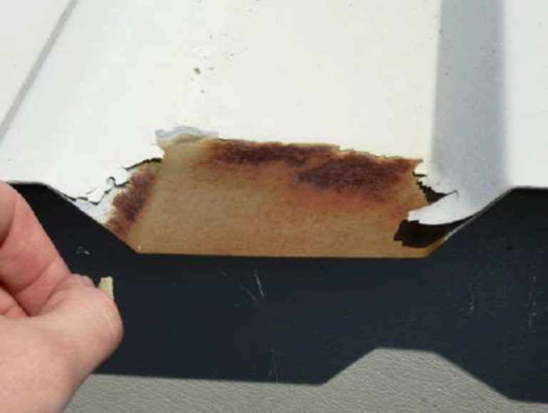 Littlehampton Sports Hall Corrosion