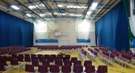 Littlehampton Sports Hall Inside