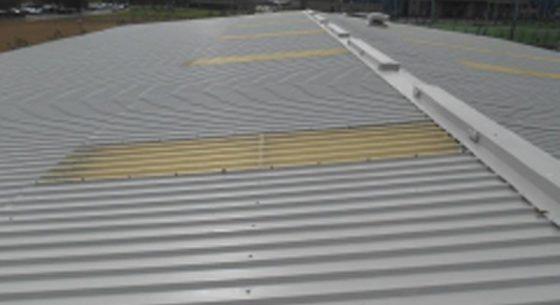 Littlehampton Sports Hall Roof After Refurbishment