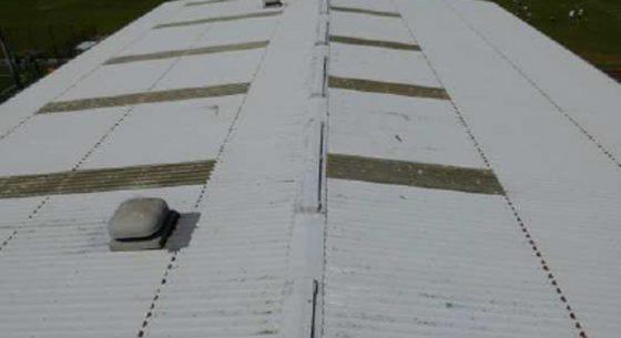 Littlehampton Sports Hall Roof Before