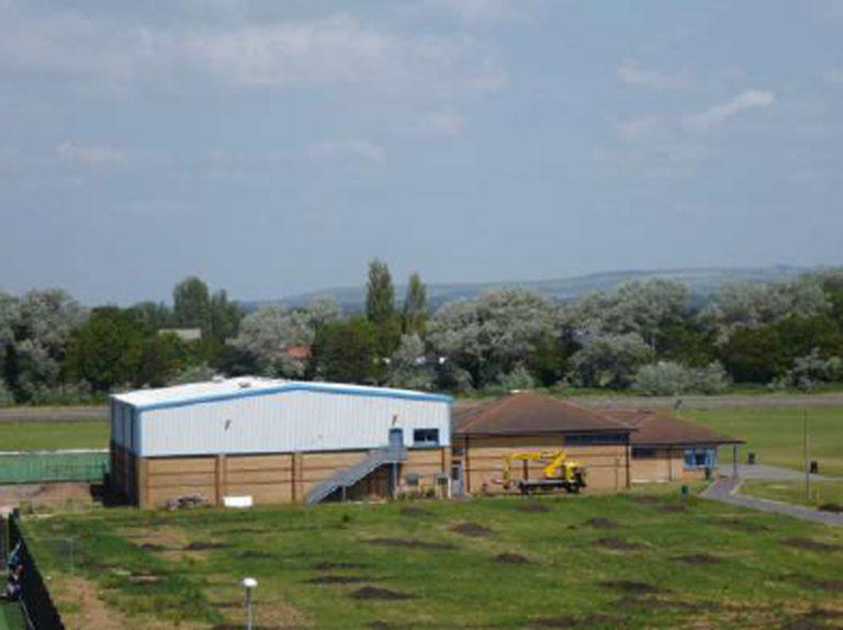 Littlehampton Sports Hall View