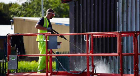 Onsite Cleaning of External Cladding