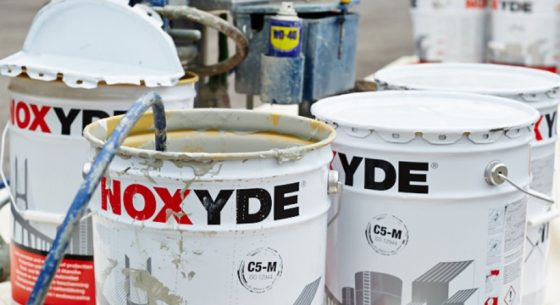 Painting Onsite using Noxyde Coatings