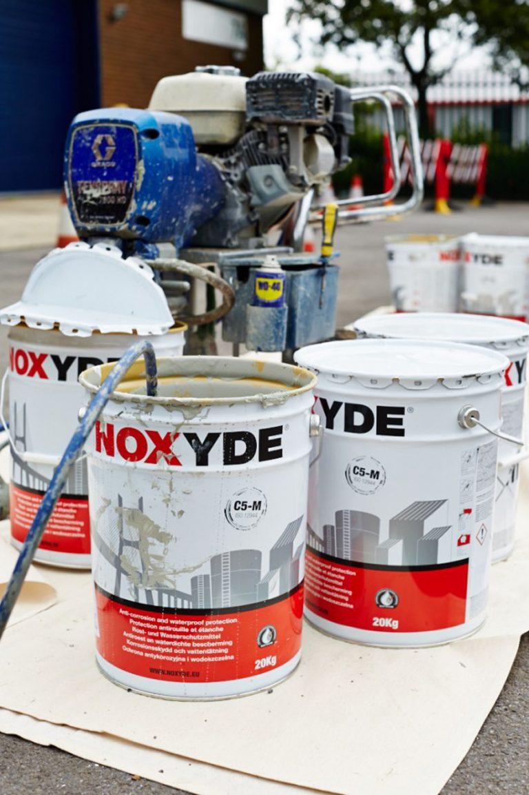 Painting Onsite using Noxide Coatings