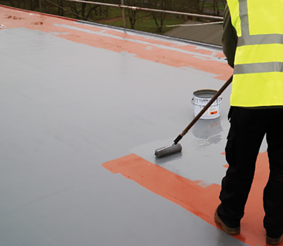 Flat roof refurbishment and repair cladding coatings for Flat roof waterproofing paint