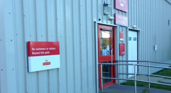 Parcelforce Aberdeen Completed