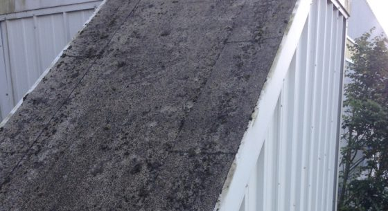 Parcelforce aberdeen roof after