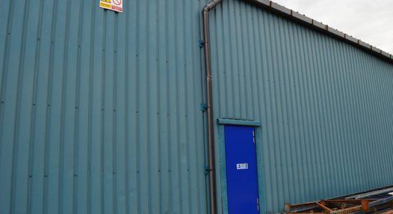 Rodo Warehouse Before Refubishment