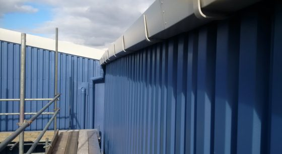 Rodo Warehouse Droylsden Refubishment Eaves