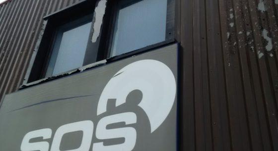 SOS Communications Horsham Before Refurbishment