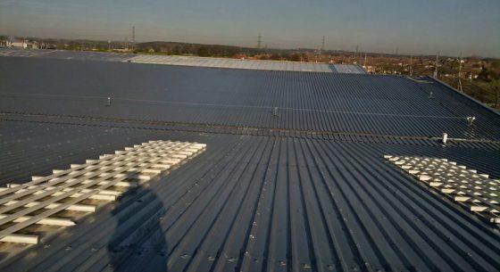 P&G Base Coat on Roof