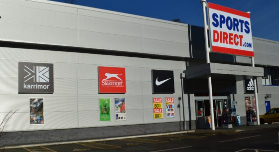 Sports Direct Leeds Shopfront Refurbishment