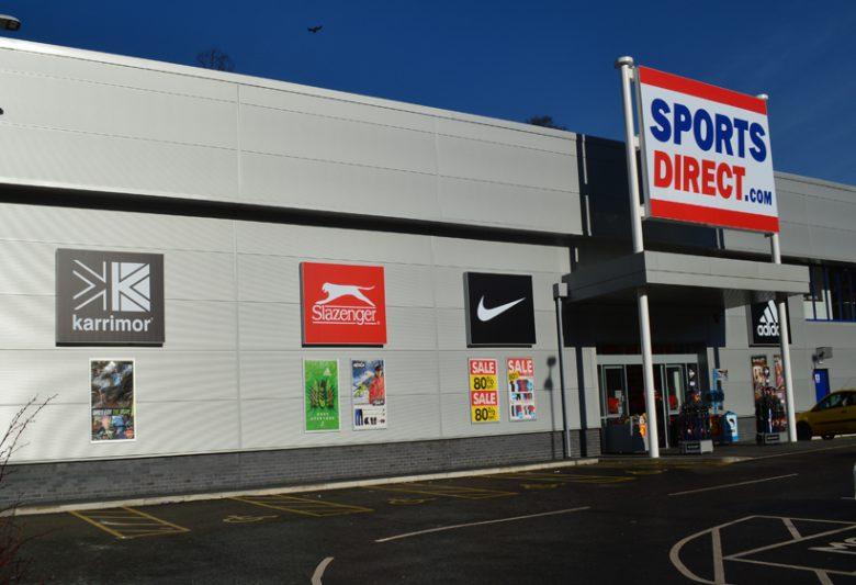 Sports Direct Leeds Shopfront Refurbishment
