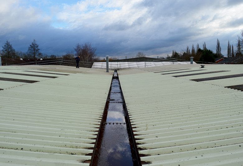 Stepnell Rugby Roof Before