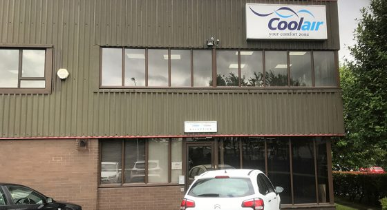 CoolAir Building Refurbishment Before