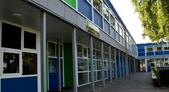 Dukeries Academy Courtyard