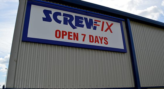 Screwfix Cladding Refurbishment