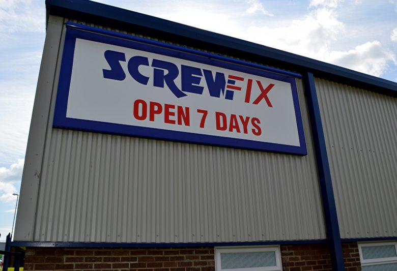 Screwfix Cladding Refurbishment