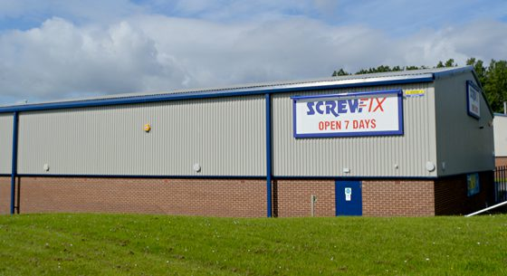 Screwfix Refurbishment