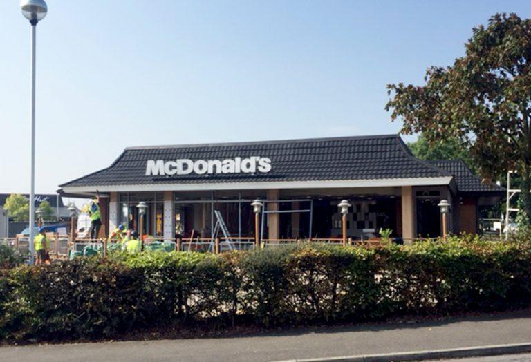 Mcdonald's After Refurbishment