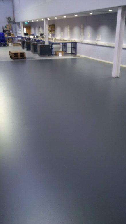 Ranstad Northumberland Floor New Coating