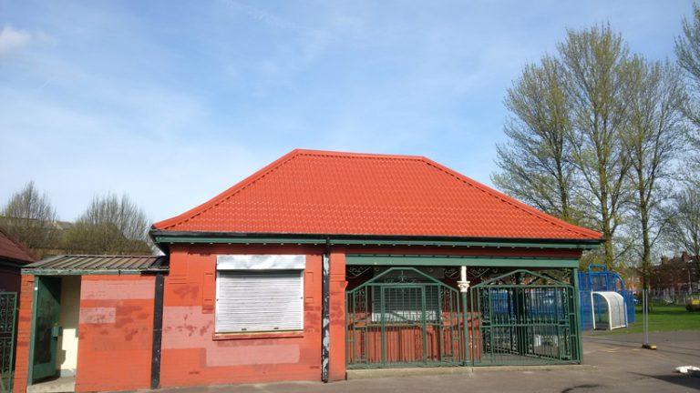Shaw Heath Roof Painting