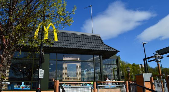McDonalds Radcliffe Refurbishment