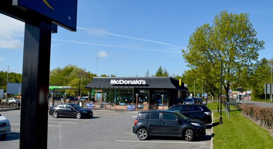 McDonalds Radcliffe onsite Coating