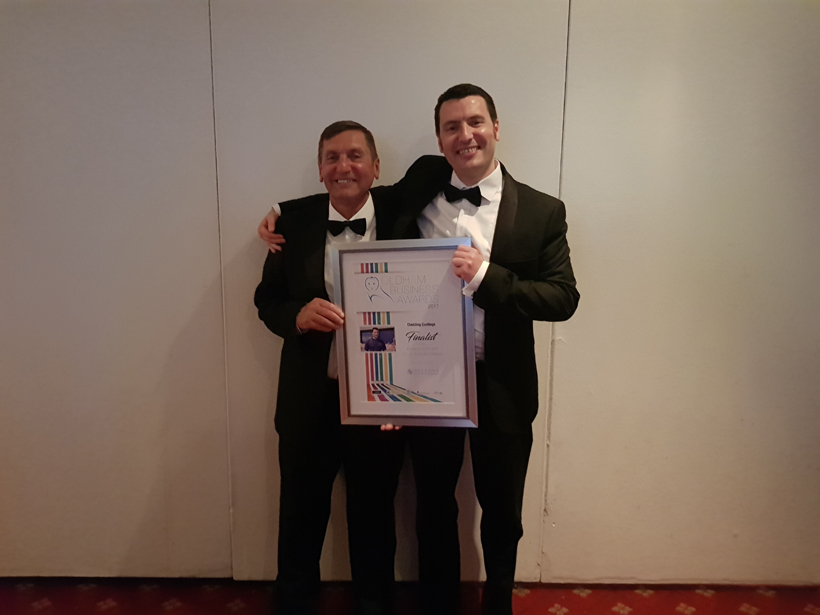 Oldham Business Awards 2017 Michael Snr and Jnr
